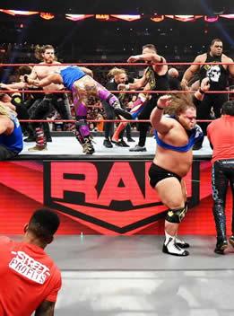 WWE2019年11月26日 RAW - 2019.11.26 RAW