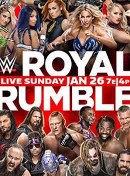 WWE2020年1月27日 PPV 《皇家大战》 - Royal Rumble 2020